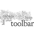 a toolbar for each vector image vector image