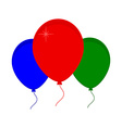 Balloon icon vector image vector image