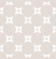 beige and white subtle geometric background vector image vector image