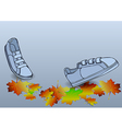 boots traveling vector image vector image
