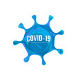 coronavirus infection flu pandemic medical vector image