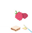 dessert fragrant cartoon icons in set collection vector image vector image