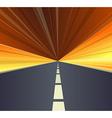 highway vector image