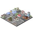 Industrial Area Concept vector image