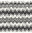 ornate textured chevron vector image vector image