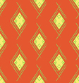 Seamless Orange Red Carpet vector image