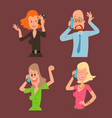 successful professional business people character vector image vector image