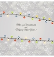 Abstract Beauty Merry Christmas and New Year vector image