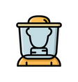 beekeeper apiculturist bee honey farmer icon vector image vector image