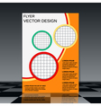 Booklet design template vector image vector image