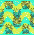 bright stylish fruit pattern vector image vector image