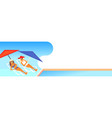 couple bikini women sunbathing girls resting on vector image