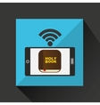 Digital holy bible internet icon