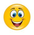 happy cartoon icon vector image vector image