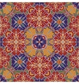 Seamless pattern from colorful Moroccan tiles vector image vector image