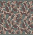 original usa shape camo seamless pattern colorful vector image