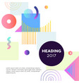 abstract background - modern template vector image vector image