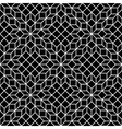 black and white mosaic seamless vector image vector image