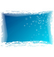 blue background as halftone background vector image vector image