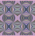 colorful seamless abstract psychedelic curved vector image vector image