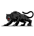 Danger black panther vector | Price: 1 Credit (USD $1)