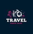 digital camera - emblem vector image
