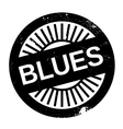 Famous dance style Blues stamp vector image vector image