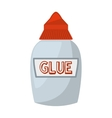 glue bottle isolated icon vector image vector image