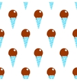 Ice-cream Pattern Colored-31 vector image vector image