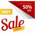 hot sale shop now special offer 50 off ima vector image