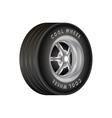 Car Wheel for sport vector image