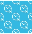 Best time pattern vector image vector image