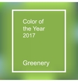 Color of the year 2017 vector image vector image