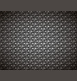 dark gray geometric pattern detailed background vector image vector image