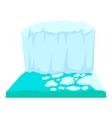 Iceberg icon cartoon style vector image vector image