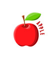 logo icon design apple farm vector image