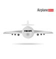 Airplane design vector image