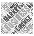 Businesses Learn to Make SEO Work for Them Word vector image vector image