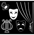 Collection of theatrical characters vector | Price: 1 Credit (USD $1)