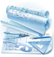 Engineering background vector image