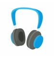 Headphone icon in cartoon style vector image vector image