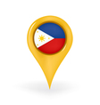 Location Philippines vector image