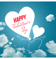 Lovely Valentines day card vector image vector image