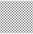seamless pattern black crosses vector image vector image