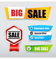 047 Collection of web tag banner for promotion vector image vector image