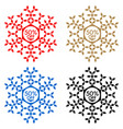 50 off discount sticker snowflake 50 off sale vector image vector image