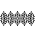 Antique ottoman turkish pattern design sixty five vector image vector image