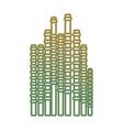 bamboo sticks icon vector image vector image