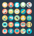 Education Colored Icons 3 vector image vector image