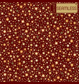 golden abstract shining falling stars seamless vector image vector image